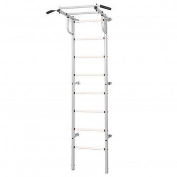Шведская стенка kett-up acrobat 1, цвет серый металлик