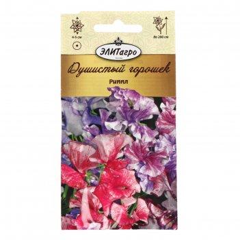 Семена цветов  душистый горошек  риппл, смесь, 0,5 г