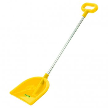 39798 лопата wader №19, алюминиевый черенок с ручкой, желтый