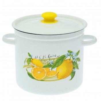 Кастрюля 7 л лимон