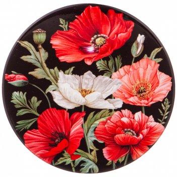 Подставка под горячее коллекция маки диаметр=10,3 см