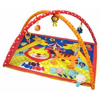 Коврик развивающий игровой цирк, 85х64х7 см