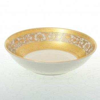 Набор розеток falkenporzellan cream royal gold 10см (6 шт)