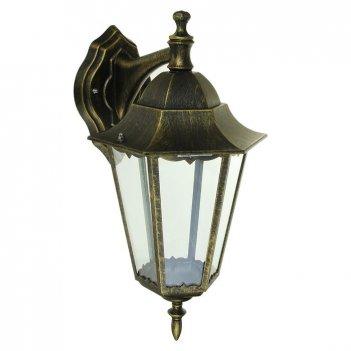 Светильник tdm 6100-12 садово-парковый шестигранник, 100вт, вниз, бронза