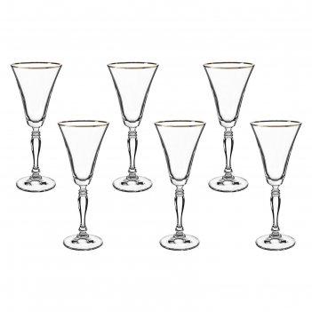 Набор бокалов для вина 190 мл 6 шт виктория