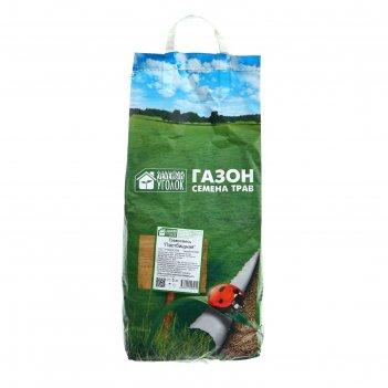 Газонная травосмесь  пастбищная зеленый уголок, 5 кг