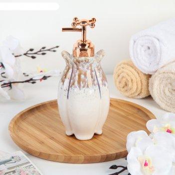 Дозатор для жидкого мыла «афродита», цвет перламутр