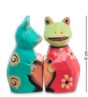 28-014 статуэтка mini лягушки сердце (2 шт)
