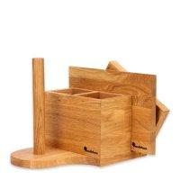 Подставка для ножей и кухонных аксессуаров us004on, размер: 30,5 х 22 х 22