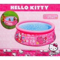 Бассейн надувной детский hello kitty 183х60см, от 3 лет
