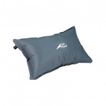 Подушка самонадувающаяся trek planet relax pillow, цвет серый серый