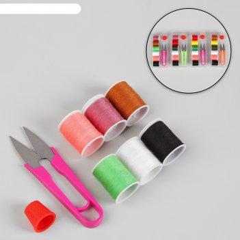 Набор для шитья в коробке, цвет микс