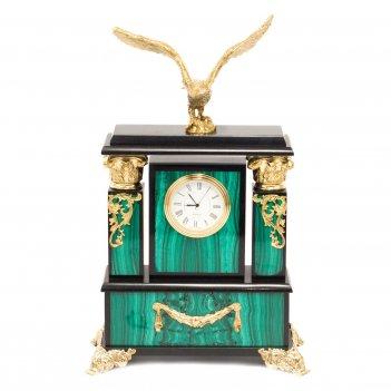 Часы орел малахит