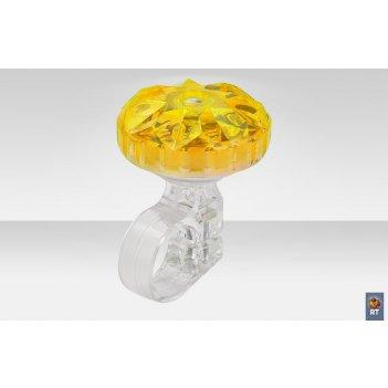 26s-02 звонок алмаз жёлтый