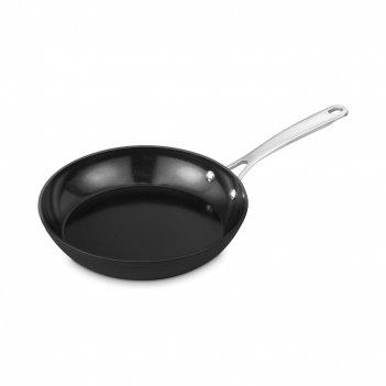 Сковорода с антипригарным покрытием, диаметр: 24 см, материал: алюминий, с