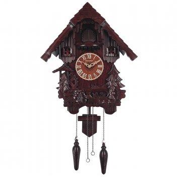 """Часы с кукушкой columbus cq-018 """"водяная мельница"""""""