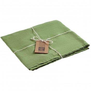 Дорожка сервировочная fine line, размер 45x150 см, цвет зелёный