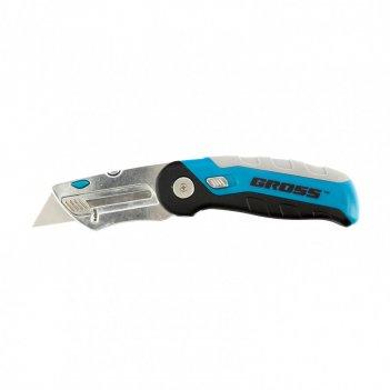 Нож, ремонтно-монтажныйный, складной, трехкомпонентная рукоятка, контейнер