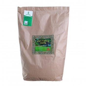 Семена газонная травосмесь быстрый газон, 5 кг