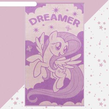 Полотенце махровое dreamer my little pony, 70х130 см, 100% хлопок, 420гр/м