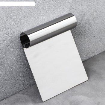 Шпатель для выравнивания кондитерский, 12 х 10см