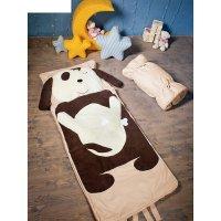 Спальный мешок пёс барбос на молнии, размер 60х120 см (s), флис/синтепух/х