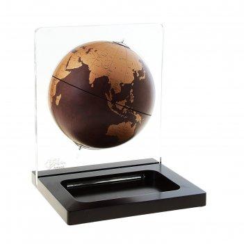 Глобус-визитница невесомость, d 22 см