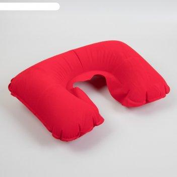 Подушка-воротник надувная 42*27см красный вклад qf