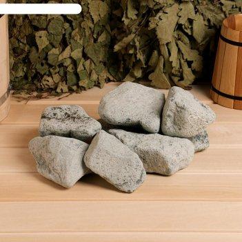 Камень для бани порфирит галтованный, коробка 20кг