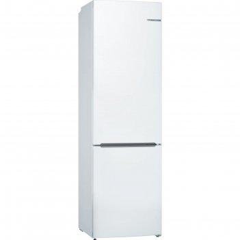 Холодильник bosch kgv39xw22r, двухкамерный, класс а+, 351 л, белый