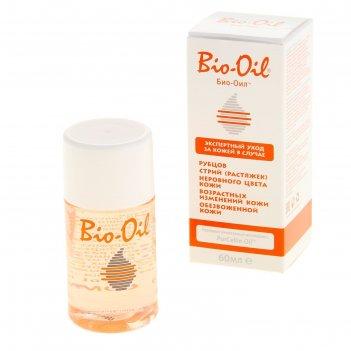 Масло косметическое bio-oil от шрамов, растяжек, неровного тона 60 мл