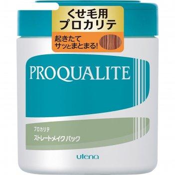 Маска для волнистых и непослушных волос utena proqualite с коллагеном, 440