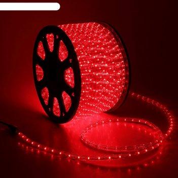 Led шнур 13 мм, круглый, 100 м, чейзинг, 3w-led/м-36-220v. в компл. набор