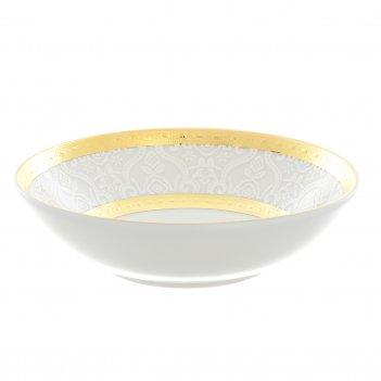 Набор розеток falkenporzellan constanza diamond white gold 11см (6 шт)