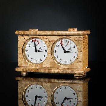 Шахматные часы- карельская береза kadun