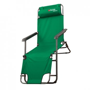 Кресло-шезлонг двух позиционное 156 х 60 х 82 см, camping palisad