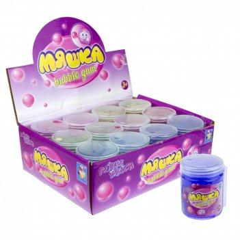 1toy мелкие пакости мяшка   buble gum 6 цветов  5,5х7,5 см, 12 шт д б