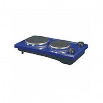 Плитка электрическая лысьва эпб 22 синяя, 2,2квт