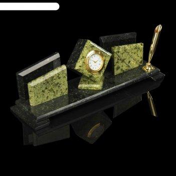 Письменный прибор кубик и 2 пенала