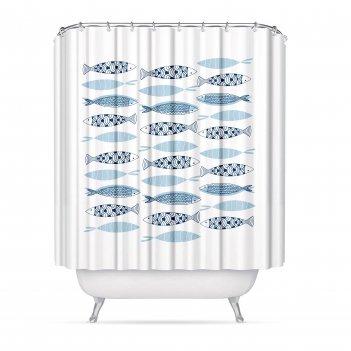 Штора для ванной комнаты mediterran