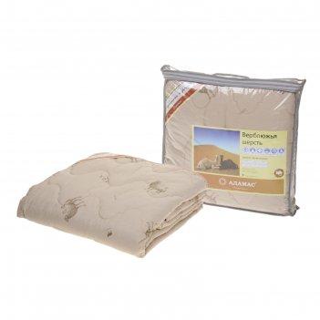 Одеяло облегчённое, всесезонное адамас верблюжья шерсть, размер 140х205 ±