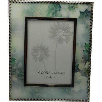 Рамка для фотографии jardin dete акварель, cталь, стекло, разм