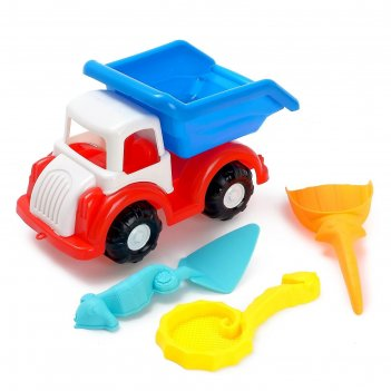 Песочный набор грузовичок микс