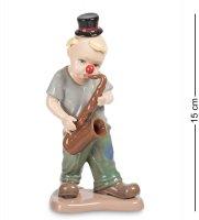 Cms-23/33 фигурка клоун с саксофоном (pavone)