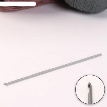 Крючок для вязания, d = 2,5 мм, 15 см
