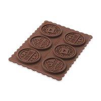 Форма для приготовления печенья cookie dolce vita slim, размер: 15,2 х 11