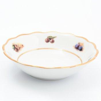Набор салатников 16 см фрукты sterne porcelan (6 шт)