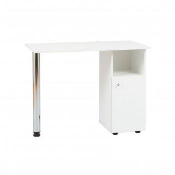 Маникюрный стол economix, цвет белый