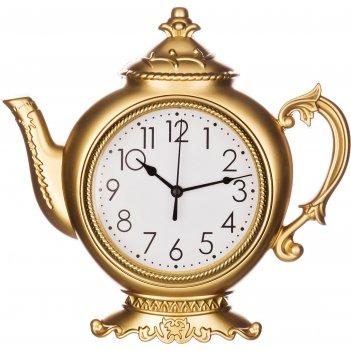 Часы настенные кварцевые chef kitchen 27,8*27*4,4 см. диаметр циферблата=1