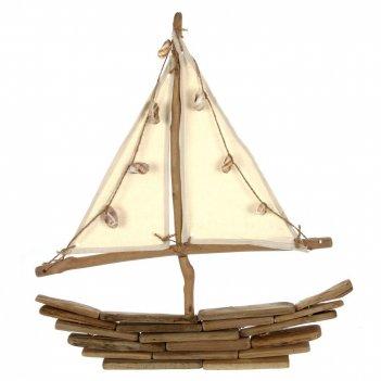 Фигурка декоративная корабль, l45 w6 h47 см, (б/инд. уп)